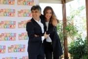 Foto/IPP/Gioia Botteghi  09/10/2014 Roma presentazione del film E FUORI NEVICA, nella foto Margareth Made e Vincenzo Salemme