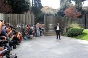 Foto/IPP/Gioia Botteghi 13/10/2014 Roma presentazione in rai di viale Mazzini, del programma di Benigni dal titolo I 10 COMANDAMENTI in onda a dicembre su rai uno