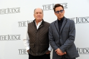 Foto/IPP/Gioia Botteghi  14/10/2014 Roma presentazione del film The Judge, nella foto: Robert Downey Jr. - Robert Duvall