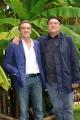 Foto/IPP/Gioia Botteghi  15/10/2014 Roma presentazione della fiction di raiuno LA STRADA DRITTA, nella foto: Ennio Fantastichini con il regista Carmine Elia