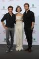 Foto/IPP/Gioia Botteghi 19/10/2014 Roma Romacinemafest film Love Rose, nella foto  : Christian Ditter, Lily Collins, Sam Claflin