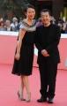 Foto/IPP/Gioia Botteghi 20/10/2014 Roma Romacinemafest red carpet, nella foto : Jia Zhanghke e la moglie attrice Zhao Tao