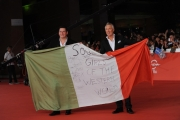 Foto/IPP/Gioia Botteghi 20/10/2014 Roma Romacinemafest red carpet, nella foto : Tony Hadley con Martin Kemp