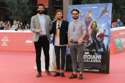 Foto/IPP/Gioia Botteghi 21/10/2014 Roma Romacinemafest red carpet, nella foto :  Guardians of the Galaxy ospite The Pills