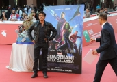Foto/IPP/Gioia Botteghi 21/10/2014 Roma Romacinemafest red carpet, nella foto :  Guardians of the Galaxy ospite Dario Ballantini