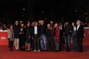 Foto/IPP/Gioia Botteghi 23/10/2014 Roma Romacinemafest red carpet, nella foto : Cast del film Due volte Delta