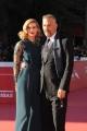 Foto/IPP/Gioia Botteghi 24/10/2014 Roma Romacinemafest red carpet, nella foto : Kevin Kostner con la figlia Lily