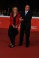 Foto/IPP/Gioia Botteghi 25/10/2014 Roma Romacinemafest red carpet, nella foto  : Pietro Grasso con signora