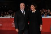 Foto/IPP/Gioia Botteghi 25/10/2014 Roma Romacinemafest red carpet, nella foto: Antonio Ricci con moglie