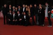 Foto/IPP/Gioia Botteghi 25/10/2014 Roma Romacinemafest red carpet, nella foto: Ficarra e Picone con il cast del film Andiamo a quel paese