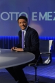 Foto/IPP/Gioia Botteghi 27/10/2014 Roma il ritorno alla conduzione di otto e mezzo di Lilly Gruber ospiti Matteo Renzi e Stefano Folli