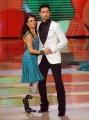 """Roma, Trasmissione """"Ballando con le stelle"""". Pictured : Giusy Versace, Raimondo Todaro"""
