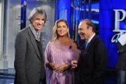 Foto/IPP/Gioia Botteghi  18/11/2014 Roma Porta a porta ospite Romina Power con il regista del suo film Antonello Belluco