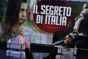 Foto/IPP/Gioia Botteghi  18/11/2014 Roma Porta a porta ospite Romina Power
