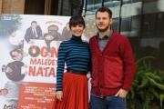 Foto/IPP/Gioia Botteghi  19/11/2014 Roma presentazione del film OGNI MALEDETTO NATALE, nella foto: Alessandro Cattelan Alessandra Mastronardi