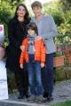 Foto/IPP/Gioia Botteghi  20/11/2014 Roma presentazione del film IL MIO PAPA, nella foto: Giorgio Pasotti, Niccolò Calvagna , Donatella Finocchiaro