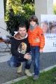 Foto/IPP/Gioia Botteghi  20/11/2014 Roma presentazione del film IL MIO PAPA, nella foto:  Niccolò Calvagna , Stefano Calvagna il vero padre del piccolo attore