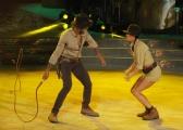 """Roma,  Trasmissione """"Ballando con le stelle"""". Pictured : Andrew Howe, Sara Di Vaira"""