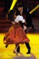 """Roma,  Trasmissione """"Ballando con le stelle"""". Pictured : Giulio Berruti, Samanta Togni"""