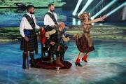 """Roma,  Trasmissione """"Ballando con le stelle"""". Pictured : Enzo Miccio, Alessandra Tripoli"""
