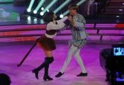 """Roma,  Trasmissione """"Ballando con le stelle"""". Pictured : Valerio Aspromonte Ekaterina Vaganova"""