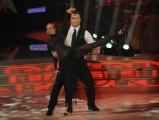 """Roma,  Trasmissione """"Ballando con le stelle"""". Pictured : Roberto Cammarelle Natalia Titova"""