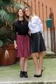 Foto/IPP/Gioia Botteghi  25/11/2014 Roma presentazione del film AMBO, nella foto Serena Autieri e Sara Putignano