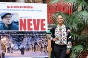 Foto/IPP/Gioia Botteghi  27/11/2014 Roma presentazione del film Neve, nella foto: Ester Elisha