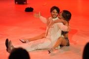"""Roma, Trasmissione """"Ballando con le stelle"""". Pictured : Giulio Berruti Samanta Togni"""
