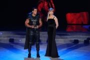 """Roma, Trasmissione """"Ballando con le stelle"""". Pictured : Silvio Simac, Milly Carlucci"""