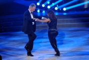 """Roma, Trasmissione """"Ballando con le stelle"""". Pictured : Giorgia Surina, Padre"""