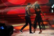 """Roma, Trasmissione """"Ballando con le stelle"""". Pictured : Andrew Howe, mamma Diana"""