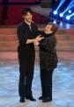 """Roma, Trasmissione """"Ballando con le stelle"""". Pictured : Giulio Berruti, nonna"""