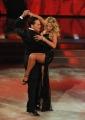 """Roma, Trasmissione """"Ballando con le stelle"""". Pictured : Valeria Marini, Pablo Mojano"""