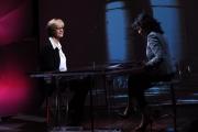 Foto/IPP/Gioia Botteghi   02/12/2014 Roma il ministro Roberta Pinotti intervista a 2 next con Annalisa Bruchi