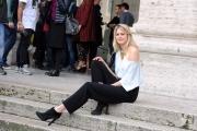 Foto/IPP/Gioia Botteghi    04/12/2014 Roma Presentazione del film DI CHE SEGNO SEI, nella foto:   Vanessa Hessler