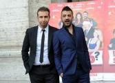 Foto/IPP/Gioia Botteghi    04/12/2014 Roma Presentazione del film DI CHE SEGNO SEI, nella foto:  Pio e Amedeo