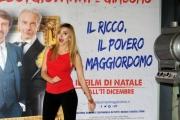 Foto/IPP/Gioia Botteghi    09/12/2014 Roma presentazione del film Il ricco il povero il maggiordomo, nella foto   Chiara Sani