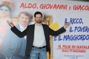 Foto/IPP/Gioia Botteghi    09/12/2014 Roma presentazione del film Il ricco il povero il maggiordomo, nella foto  il regista Morgan Bertacca