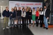 Foto/IPP/Gioia Botteghi    09/12/2014 Roma presentazione del film Il ricco il povero il maggiordomo, nella foto il cast