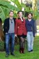 Foto/IPP/Gioia Botteghi 18/12/2014 Roma  presentazione della fictio di rai 2 LO ZIO GIANNI, nella foto Francesco Russo, Crystel Checca, Luca Di Capua