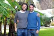 Foto/IPP/Gioia Botteghi 18/12/2014 Roma  presentazione della fictio di rai 2 LO ZIO GIANNI, nella foto I due registi Sidney Sibilla e Daniele Grassetti