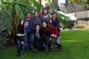 Foto/IPP/Gioia Botteghi 18/12/2014 Roma  presentazione della fictio di rai 2 LO ZIO GIANNI, nella foto I due registi Sidney Sibilla e Daniele Grassetti ed il cast