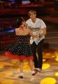 """Roma, Trasmissione """"Ballando con le stelle"""". Pictured : Valerio Aspromonte, Ekaterina Vaganova"""