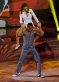 """Roma, Trasmissione """"Ballando con le stelle"""". Pictured : Giorgia Surina, Maykel Fonts"""