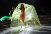 """Roma, Trasmissione """"Ballando con le stelle"""". Pictured : Dayane Mello, Samuel Peron"""