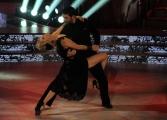 Foto/IPP/Gioia Botteghi 22/11/2014 Roma puntata di BALLANDO CON LE STELLE, nella foto: Katherine Kelly Lang Simone Di Pasquale