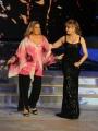 Foto/IPP/Gioia Botteghi 22/11/2014 Roma puntata di BALLANDO CON LE STELLE, nella foto: Romina Power Milly Carlucci