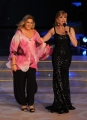 "Roma, Trasmissione ""Ballando con le stelle"". Pictured : Milly Carlucci Romina Power"