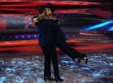 """Roma, Trasmissione """"Ballando con le stelle"""". Pictured : Marisa Laurito Stefano Oradei"""